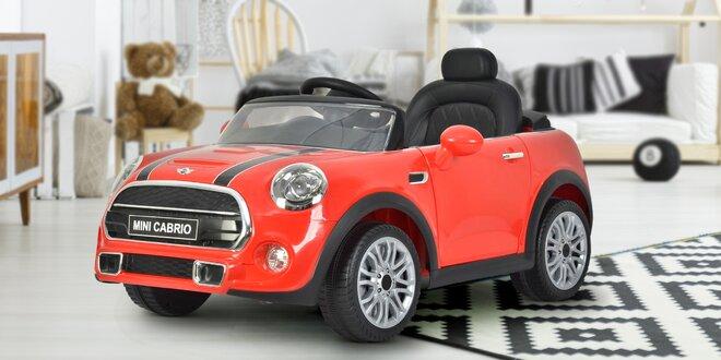 Elektrické auto Mini Cooper pro děti vč. ovládání