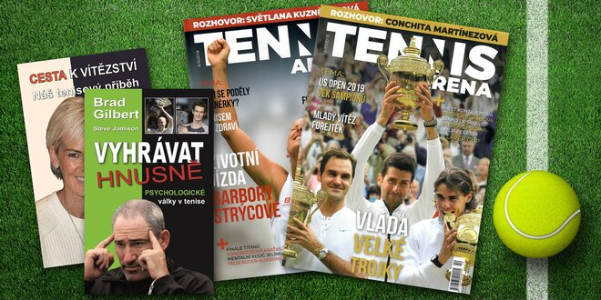 Roční předplatné časopisu Tennis aréna a dárek