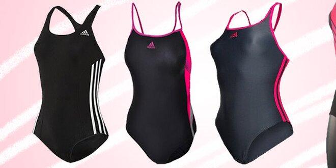 Jednodílné sportovní plavky Adidas pro vášnivé plavkyně  6e54b1aecb