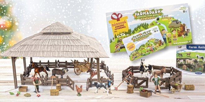 Farmapark rozdává dárky: vstupy a stavebnice zdarma