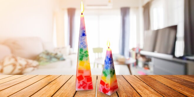 Čakrová svíčka s dobou hoření až 42 hodin