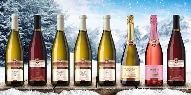 Arcibiskupské víno: set 6 sektů nebo mešních vín