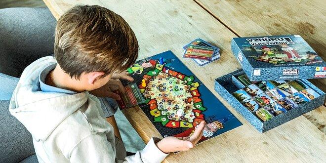 Desková hra Vzhůru na vlastivědu! pro děti od 8 let