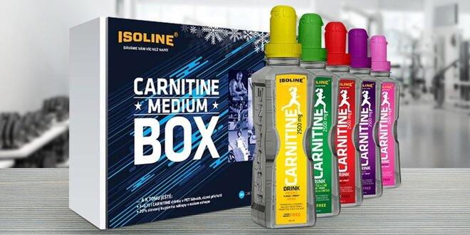 Pro lepší spalování: Karnitin, 30 dávek, 5 příchutí