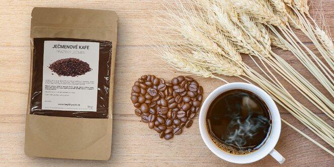 Zdravé ječmenové kafe bez kofeinu