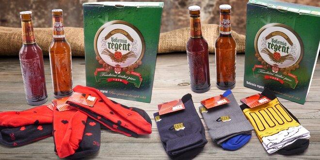 Piva Bohemia Regent a ponožky, trenýrky či tričko
