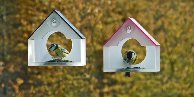Designová krmítka pro ptáky: radost za vašimi okny