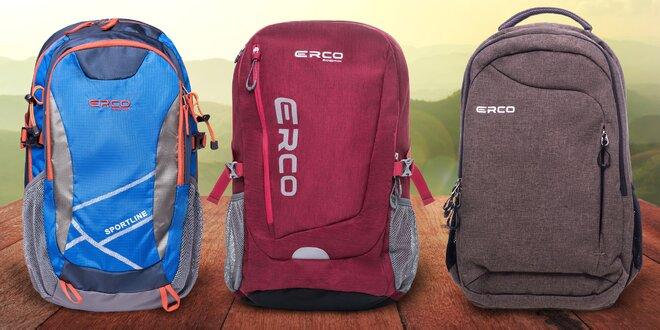 Batohy Erco (30 či 35 litrů) na výlety i do školy