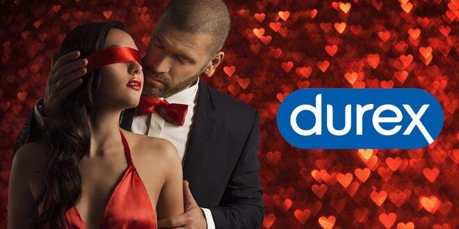 Valentýnské balíčky Durex: kondomy i vibrátory