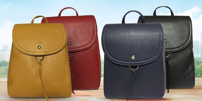Elegantně a prakticky: dámské batohy z eko kůže
