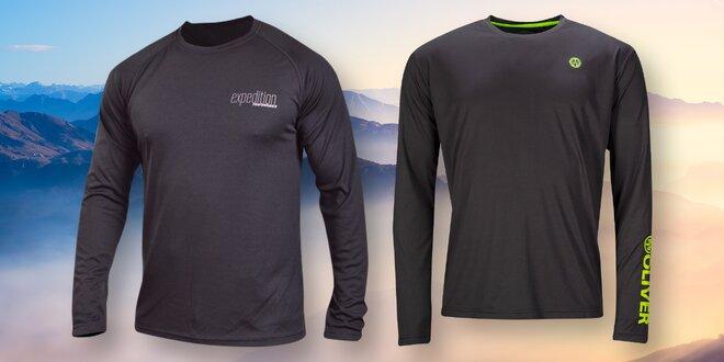 Sportovní funkční tričko OLIVER s dlouhým rukávem