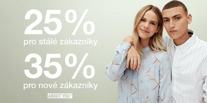 Sleva do módního e-shopu About You ve výši 25–35 %