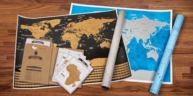 Stiraci Mapy Sveta A Cestovni Deniky Slevomat Cz