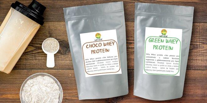 Whey protein: čistý nebo s 6 příchutěmi