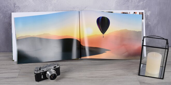 Fotokniha ve formátech A5, A3 nebo 20x20