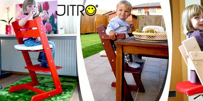 Kvalitní židle, která roste s dítětem