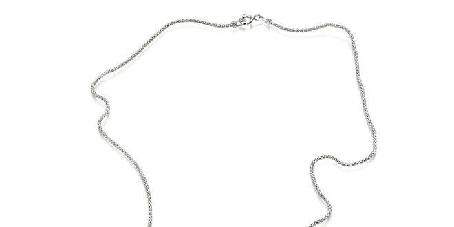 Dámský stříbrný náhrdelník se dvěma perlami Orchira