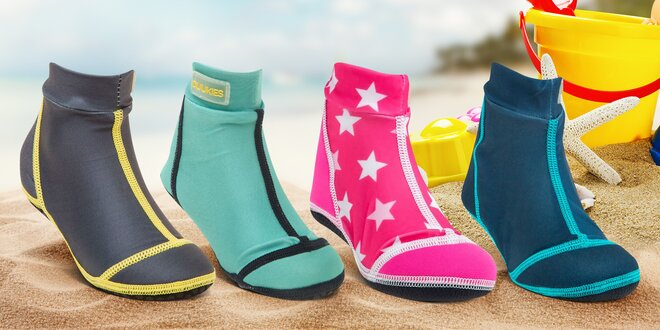 Dětské plážové ponožky na ochranu nohou