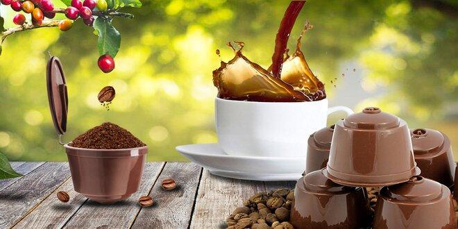 Plnitelné kapsle kompatibilní s kávovary Dolce Gusto