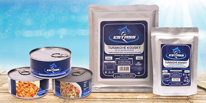 Tuňák Estass: v oleji, uzený, s chilli nebo quinoou