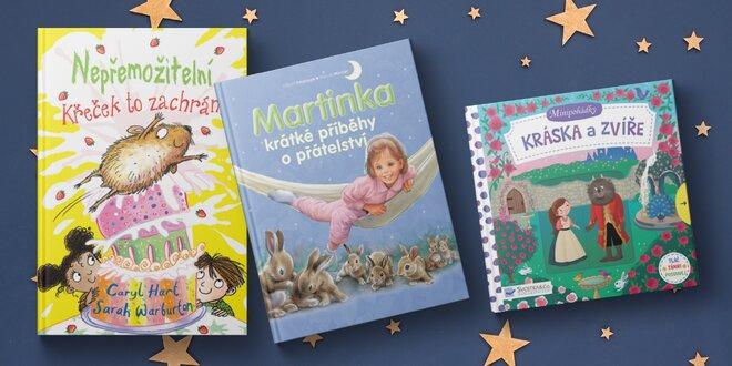 Minipohádky pro nejmenší: leporela i knížky