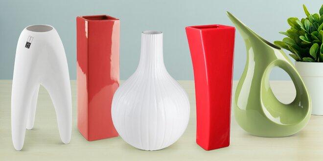 Doma to vykvete: české designové vázy By inspire