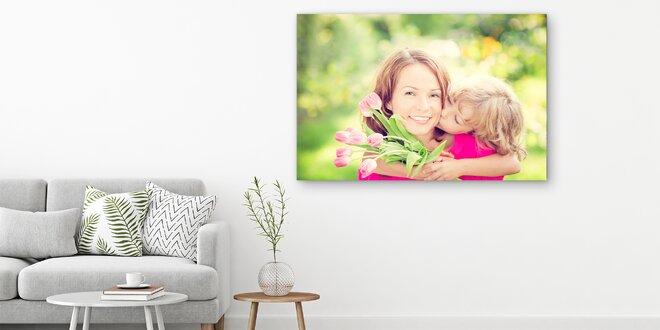 Fotoobraz na malířském plátně: dřevěný rám