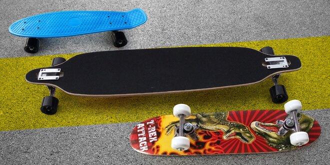 Ať to frčí: skateboard, longboard a penny board