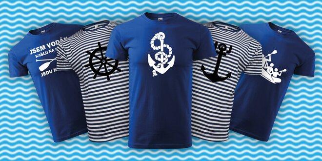 Parádní bavlněná trička pro vodáky