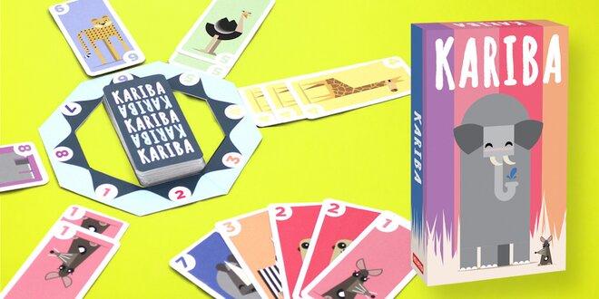 Dětská karetní hra Kariba pro 2–4 hráče od 6 let
