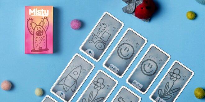 Misty: malá karetní hra pro 2 až 4 hráče od 6 let