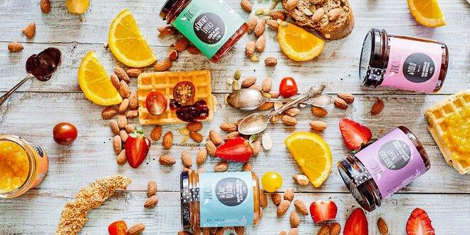 Ručně vyráběné řecké chutney a marmelády