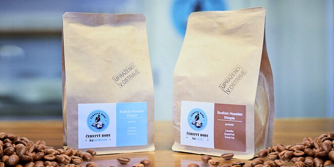 Výběrová káva z české pražírny na espresso i filtr