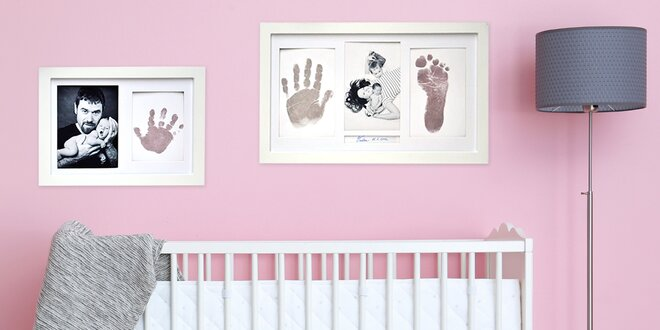 Rodinná památka: 3D odlévací sada i otisk dítěte