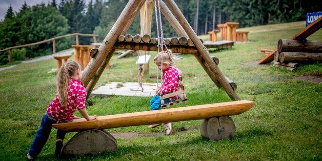 Kam s dětmi v Beskydech? Objevte hřiště v kopcích i pohádkovou stezku Mionší