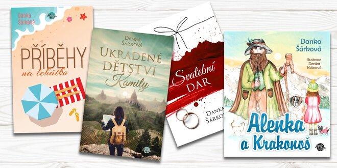 Knihy pro děti i dospělé s věnováním od autorky