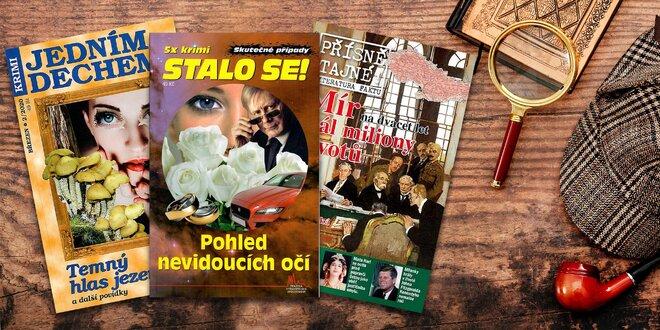 Předplatné krimi časopisů Jedním dechem a Stalo se
