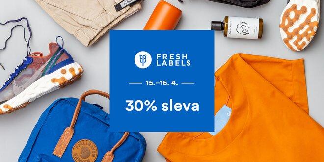 Sleva 30 % na veškeré zboží z e-shopu Freshlabels