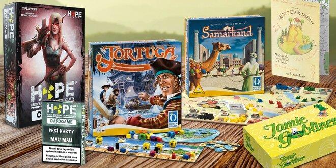 Hravé dny s deskovkami a karetními hrami