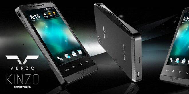 Kvalitní český smartphone VERZO s Androidem