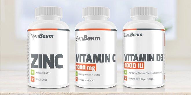 Céčko, déčko a zinek: tablety pro posílení zdraví