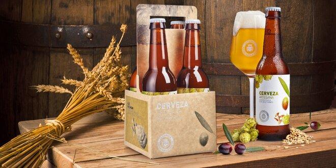 Na zdraví: balíček 4 řemeslných olivových piv