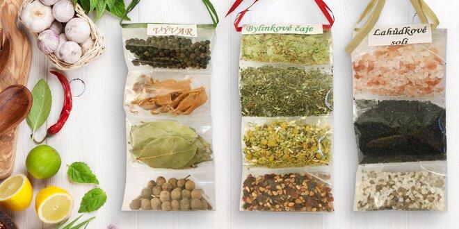 Voňavé dárky: exotické koření, soli a čaje