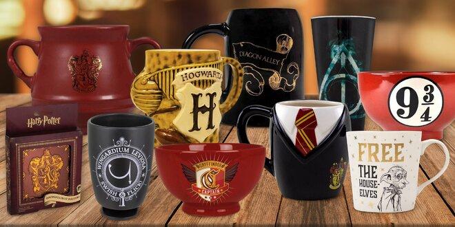 Harry Potter: hrnky, sklenice, misky i kotlíky