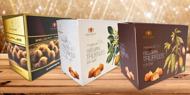 Od belgických mistrů: čokoládové truffles 7 chutí