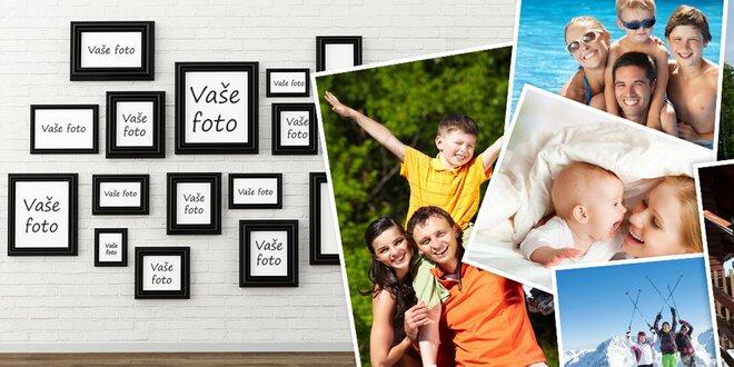 10 fotek a křídovém papíře ve formátu A4 nebo A3