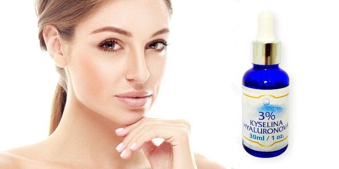 Sérum 3% kyseliny hyaluronové pro krásnou pleť
