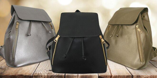 Praktické dámské koženkové batohy Elena Bags