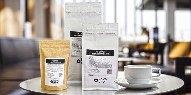 Bezkofeinová káva z Kolumbie: zrnková i mletá