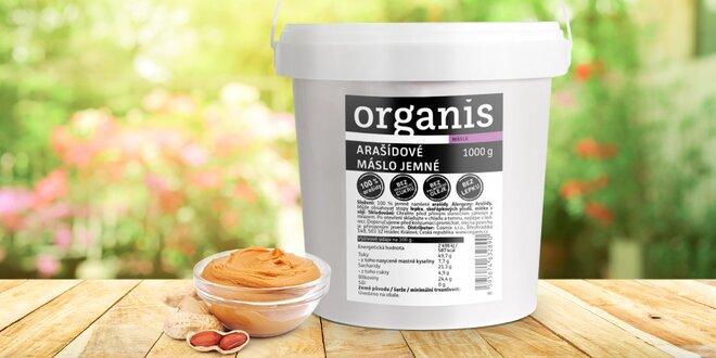 Mlsejte zdravě: 1 kg arašídového másla Organis